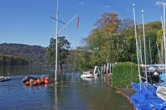 Royal-Windermere-2ND-PHOTO-to-accompany-15-October-2018-press-release-No-wind-for-flags-on-submerged-flagpole-and-club-foreshore